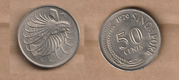 Singapur  50 Cents 1979  NI  UNC - Singapore