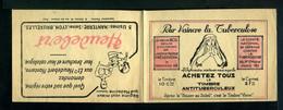 Carnet De 1928  - Tuberculose - Antituberculeux - N° 28*SI*14 Couverture  - Pas De Pub En Pages Intérieure - Blocs & Carnets