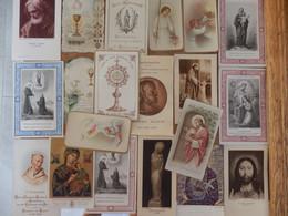 (34)   Lot De 20 Images Religieuses - Santini