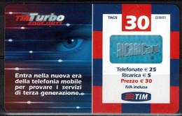 Ricarica TIM TURBO - TURBO30-P Gen. 2007 - GSM-Kaarten, Aanvulling & Voorafbetaald