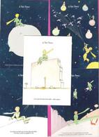 CPM Illustrée St Exupéry Le Petit PRINCE Lot De 10 Cartes Différentes - Contes, Fables & Légendes