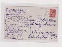 RUSSIA 1912 LEVANT Nice Postcard To Germany - Levant