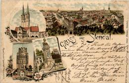 Gruss Aus Stendal - Litho - Stendal