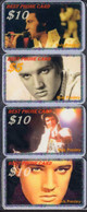 Music FAMOUS SINGER ELVIS Presley 8 USED Phonecards, Telefonkarten, Tarjeta Telefónica, Carte De Téléphone - Musica