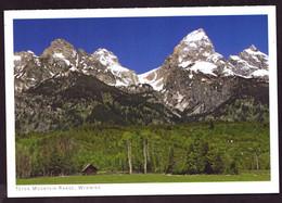 AK 001169 USA - Wyoming - Teton Mountain Range - Other