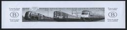 België 2993/95 MV - Treinen - 75 Jaar NMBS - Trains - Opl.: 75 Ex - Zeldzaam - Rare - Ministerial Panes