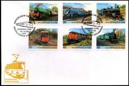 République Du Guinée - FDC - Transport Ferroviaire - Trains