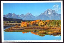AK 001178 USA - Wyoming - Oxbow Band Des Snake River Vor Der Teton Range - Other