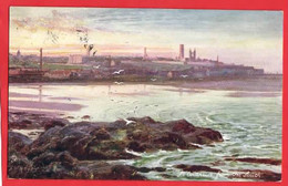 ST ANDREWS  FROM SOUTH   RAPHAEL TUCK SERIES Pu ST ANDREWS 1909 - Fife