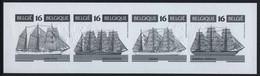 België B26 MV - Zeilschepen - Voiliers - Mercator - Kruzenstern - Sagres II - Vespucci - Opl.: 75 Ex - Zeldzaam - Rare - Ministerial Panes