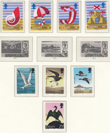 JERSEY  Jahrgang 1975, Postfrisch **, 114-130, Landwirtschaftl. Geräte, Königinmutter, Tourismus, Seevögel, Air Forces - Jersey