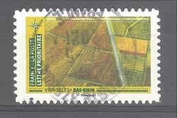 France Autoadhésif Oblitéré N°1942 (Mosaïque De Paysages - Vignobles Bas-Rhin) (cachet Rond) - Oblitérés
