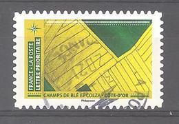 France Autoadhésif Oblitéré N°1953 (Mosaïque De Paysages - Champs De Blé Et Colza Côte-d'Or) (cachet Rond) - Oblitérés