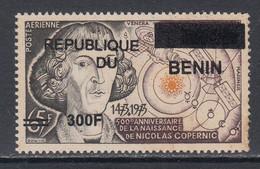 2009 Benin Copernicus Copernic Astronomy Space 300F Overprint Y&T 1166 MNH **DIFFICULT** - Astronomia