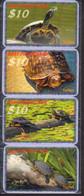 TURTLES Schildkröten Tortues 16 USED Phonecards, Telefonkarten, Tarjeta Telefónica, Carte De Téléphone - Tartarughe