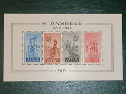 Anseele /  BL26 MNH - Blocchi 1924 – 1960