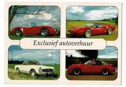 """Multivues 4 Vues """" Coupé Sport Cobra, Ferrari 308 Targa, Mercedes Benz 230 SL, Porsche 911 T Targa - Pub H.P.S - Andere"""