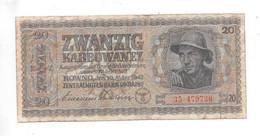 *ukraine 20 Karbowanez 1942    53 - Ukraine