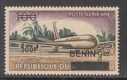 2009 Benin Airport Aeroport Aviation Airplanes 300F Overprint Y&T 1170 Scott C610 MNH **DIFFICULT** - Benin – Dahomey (1960-...)