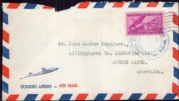 Cuba - Circa 1950 - Lettre - Envoyé En Argentina - Air Mail - A1RR2 - Covers & Documents