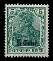 BES 1WK ETAPPE WEST Nr 2a Ungebraucht X779426 - Ocupación 1914 – 18