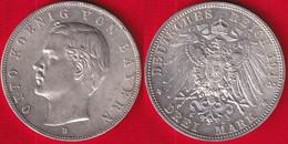 "Germany / Bavaria, Bayern 3 Mark 1912 D Km#996 AG ""Otto"" - 2, 3 & 5 Mark Silber"