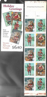 US  1995   Sc#BK233   32c  Christmas Booklet Of 20 (2 Panes) MNH - 1981-...