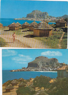 CEFALÚ-PALERMO-8 CARTOLINE VERA FOTOGRAFIA-5 VIAGGIATE 1971--1972--1979-TUTTE SCANSIONATE - Palermo