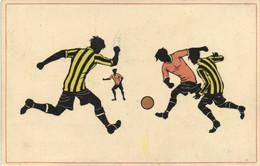 Illustrateur Une Partie De Football RV - Football