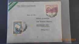 Lettre De 1937  à Destination De Belgique - Covers & Documents