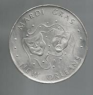 Token, Jeton De MARDI GRAS, 1967, Etats Unis, New Orleans ,Music, Penny Pinchers, 2 Scans,frais Fr 1.95 E - Other