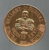 Token, Jeton De MARDI GRAS, 1967, Etats Unis, New Orleans , Hermes Coin Of Olympus, 2 Scans,frais Fr 1.95 E - Other