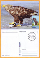 "2021 Moldova Moldavie Moldau Romania  Maxicard  Lower Prut ""Biosphere Reserve"" Birds, Fauna - Moldavië"