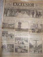 Journal Excelsior 28 Aout 1923 Le Mans Le Touquet Autodrome Monza Alvin Owsley La Chatre Incidents Munchen Gladbach - Altri