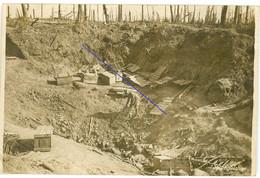 Allemande Carte Photo - Argonnen Frankreich   WWI 14/18 - 1914-18
