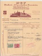FOREST   WEISENFELD  MALTERIE D,EXPORTATION FORESTOISE - 1900 – 1949
