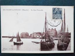 50 ,saint Vaast La Hougue , Le Quai Tourville En 1931 - Saint Vaast La Hougue