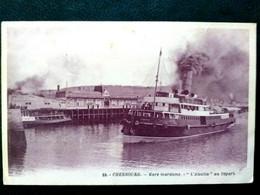 50 ,  Cherbourg ,bateaux , ,l'alsatia Au Départ - Cherbourg