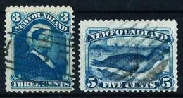 Terranova (Británica) Nº 37/38 Usado - 1865-1902