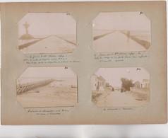 PHOTO - 85 - NOIRMOUTIERS Et FROMENTINE (Vendée) - Lot De 4 Photos Entre 1902 Et 1905  Avec Commentaires - RARE - Lieux