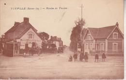 76 - YERVILLE - Route De Veules - Yerville