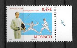 2006 - 2547 **MNH - Escrime - Unused Stamps