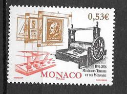 2006 - 2531 **MNH - Musée Des Timbres Et Des Monnaies - Unused Stamps