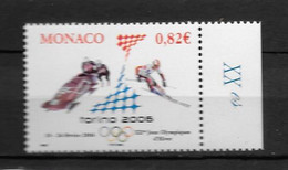2006 - 2528 **MNH - Jeux Olympiques De Turin - Unused Stamps