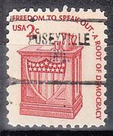 USA Precancel Vorausentwertungen Preos, Locals Indiana, Poseyville 704 - Vorausentwertungen