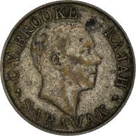 Monnaie, Sarawak, Charles V. Brooke, 20 Cents, 1927, Heaton, Birmingham, TTB - Malaysia