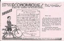BUVARD, Cyclisme, Ville  Besançon, Offert Par Les ECONOMIQUES  Bisontins - Sport