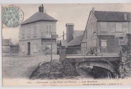CLERMONT (Oise) - Au Pont De Pierre Les Moulins Scierie Mécanique - Clermont