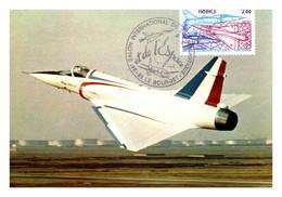 France Poste Aérienne N°54 - Carte Maximum - Thème Avions - TB - 1960-.... Covers & Documents