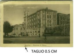 CAGLIARI - BASTIONE S. REMY - EDIZIONE CALZIA - SPEDITA 1923 (8046) - Cagliari
